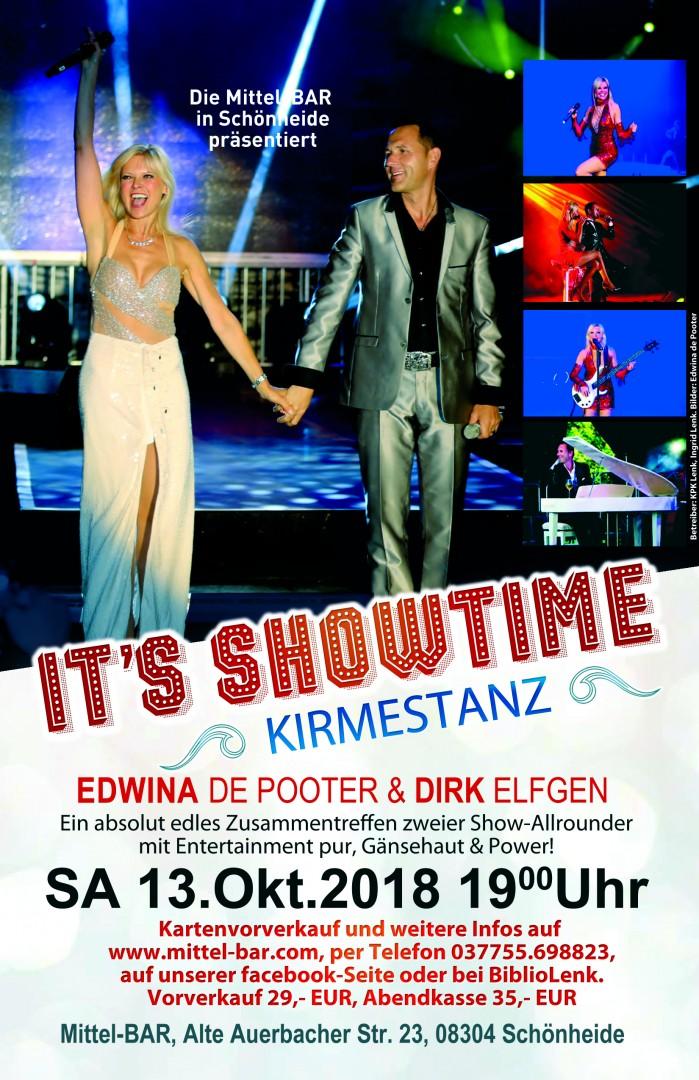 It's Showtime - Edwina de Pooter & Dirk Elfgen