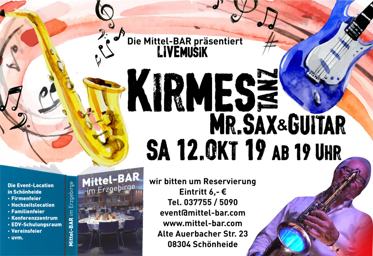Livemusik in der Mittel-BAR!